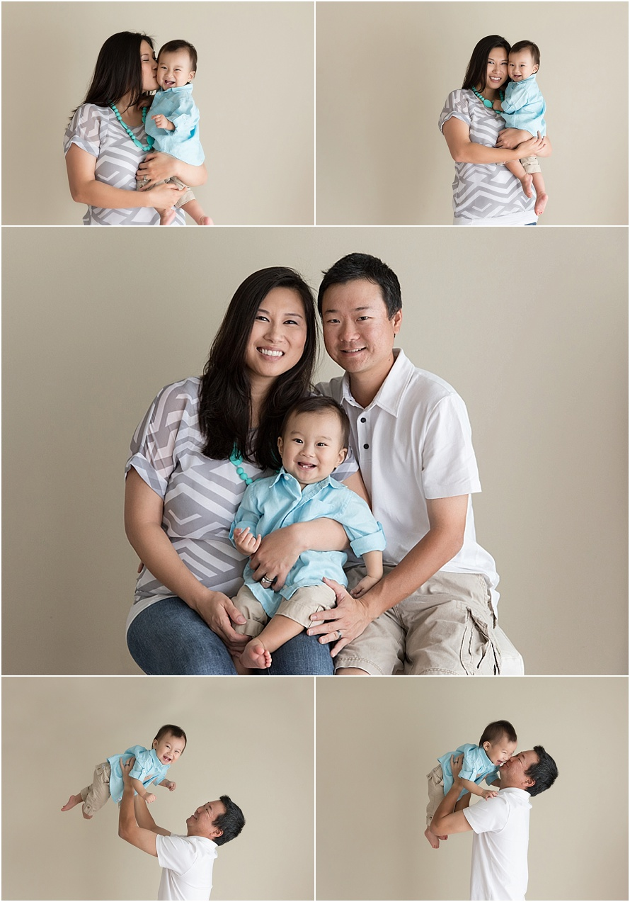 family portraits with toddler boy hawaii
